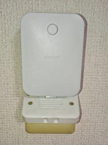 wifiの中継器の接続