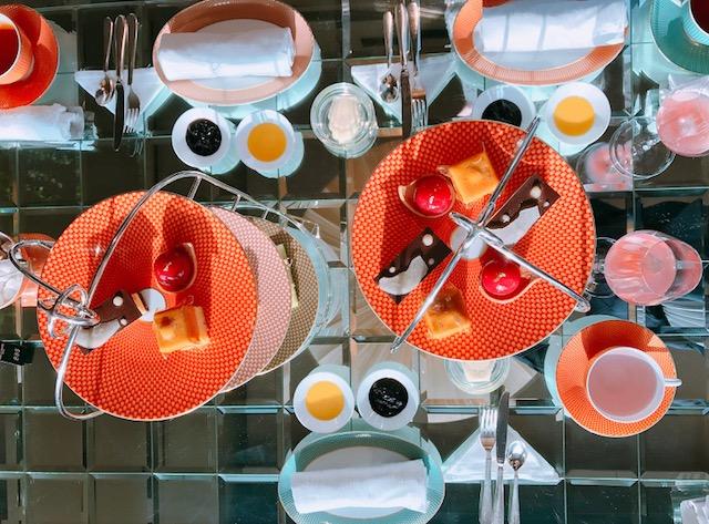 女子会は日本橋のホテル、マンダリンオリエンタルのアフタヌーンティーで