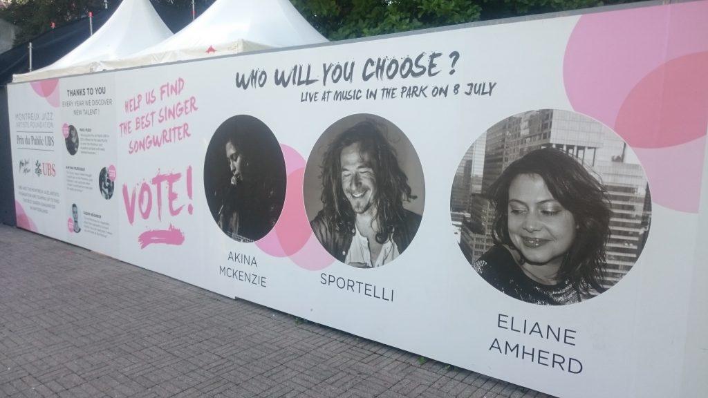 montreuxjazzfestivalのコンペ?
